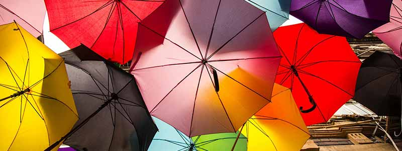 傘の取り扱い風水